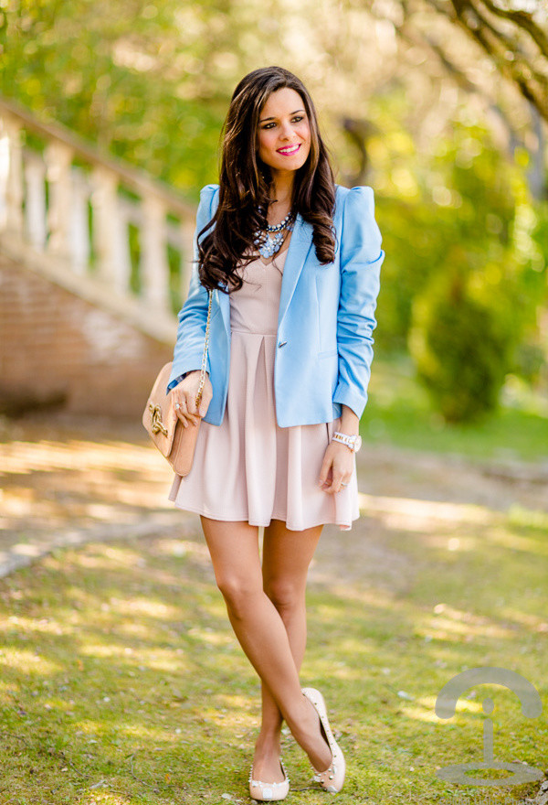 Street Style Dresses - Pink Flare Dress