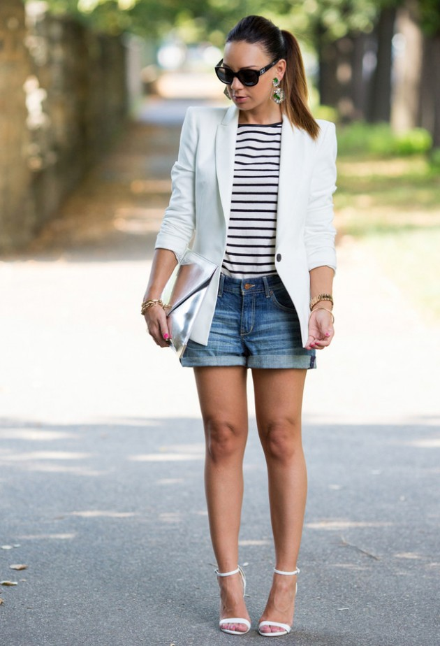 Street Style Ideas With Stripes - Striped Top