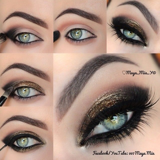 Stylish Black Eye Makeup Tutorial