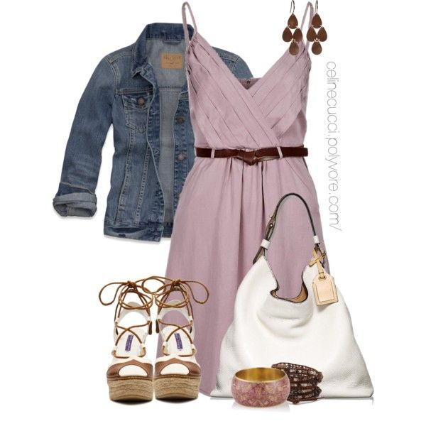 Stylish Dress Outfit Idea for Summer