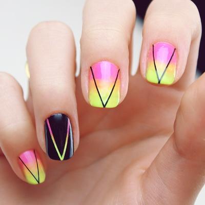 Stylish Neon Nails