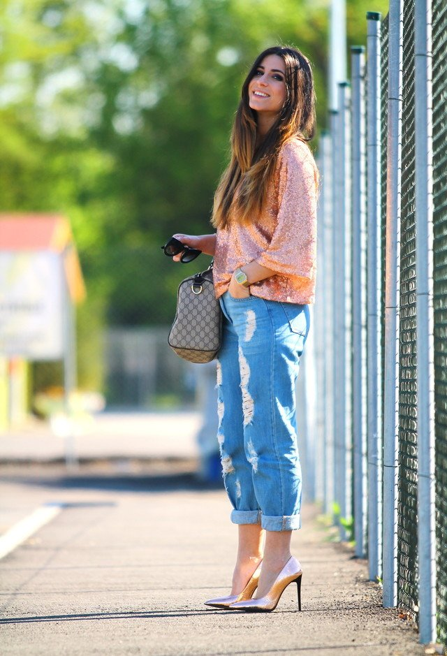 Stylish Outfit Idea with Jeans