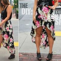 Summer High-low Skirt