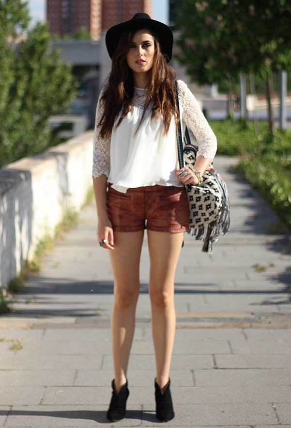 Summer Outfit Idea with Hat