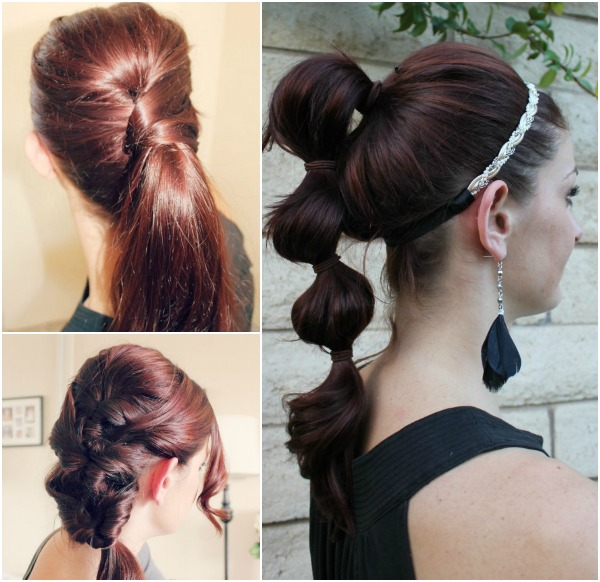 Stylish ponytail hairstyles 2014 new