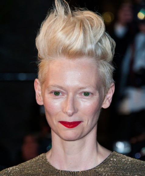 Tilda Swinton Short Hair