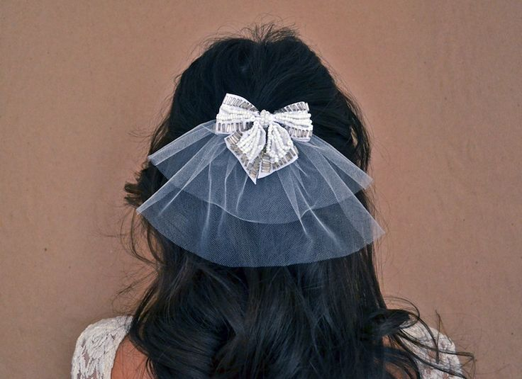 Two Tier Hair Bow