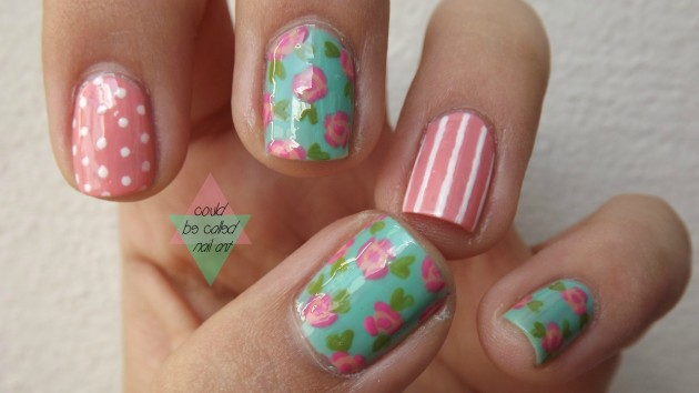 15 Colorful Flower Nail Designs for Summer Nails  Woodworking Nail polish Nail care Nail art Nail Kleurrijke bloemnagelontwerpen Fasteners fashion Culture Aesthetics