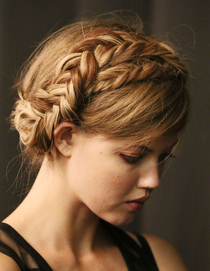 curly fade hairstyle : Braided Hairstyles to Try: Crown Braids and Waterfall Braids - Pretty ...