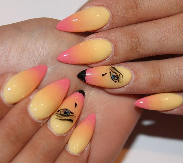 14 Simple Nails for Summer Nail Designs - Pretty Designs