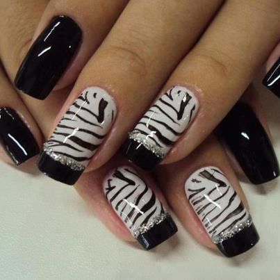 15 Easy Black And White Nail Designs For Beginners Pretty Designs
