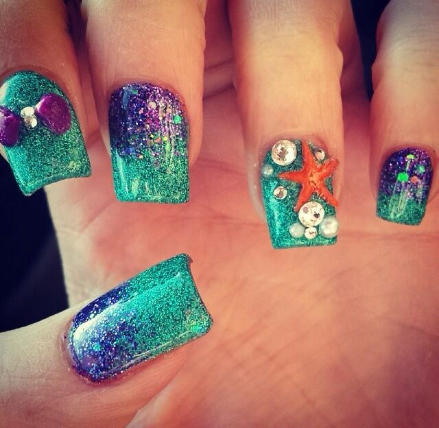 15 teal nail designs pretty designs