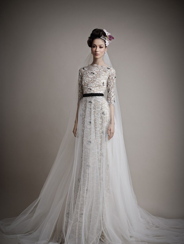 A breathtaking collection of fairy bridal gowns by ersa atelier a collection of bridal gowns by ersa atelier junglespirit Choice Image