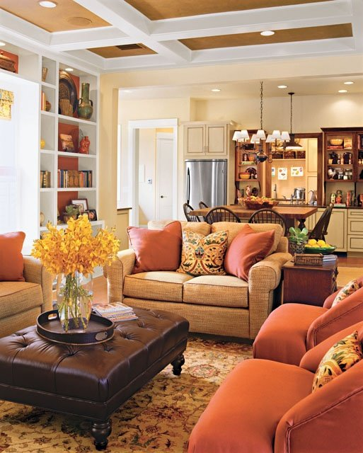 Pretty Living Room Ideas Fascinating With Warm and Cozy Living Room Colors Photos