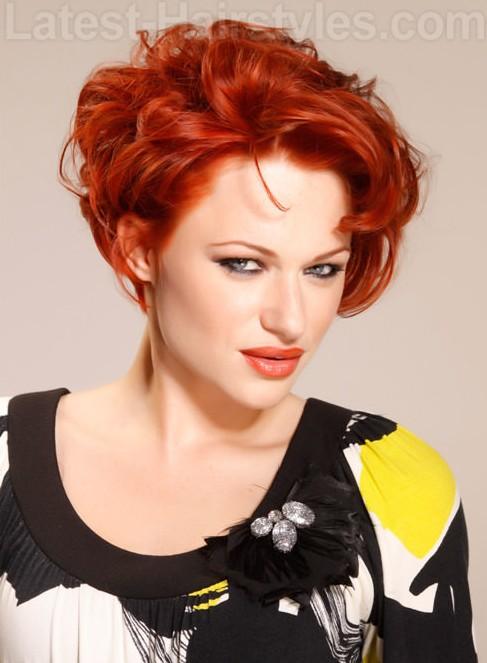 11 Amazing Copper Hairstyles voor 2014