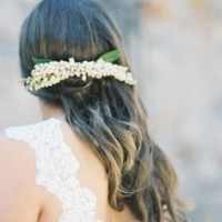 Beach Hairstyle With Hair Accessories