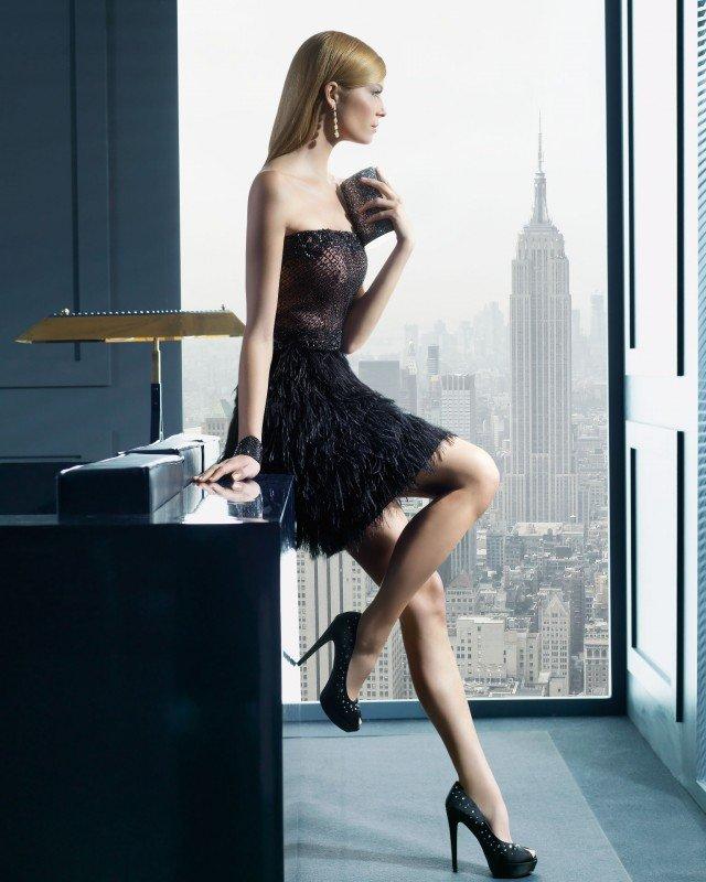 Beautiful Black Short Dress