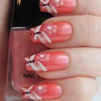 Beautiful Coral Nails
