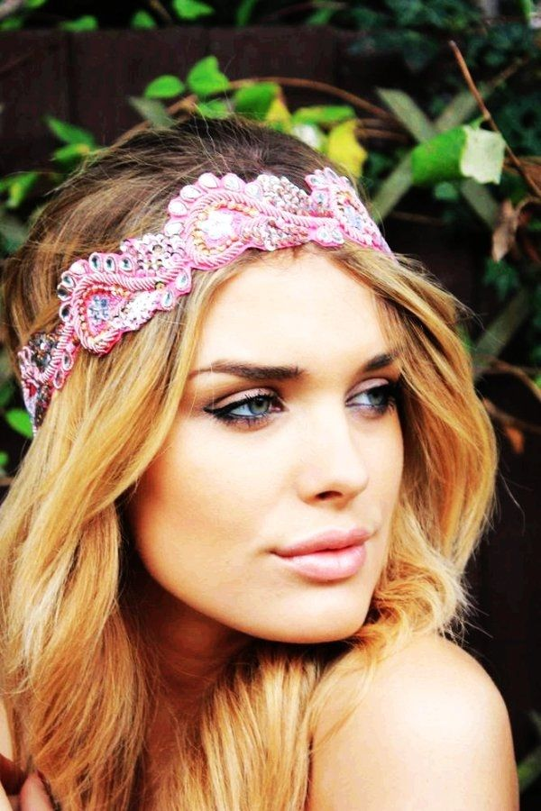 Beautiful Headband Hairstyle