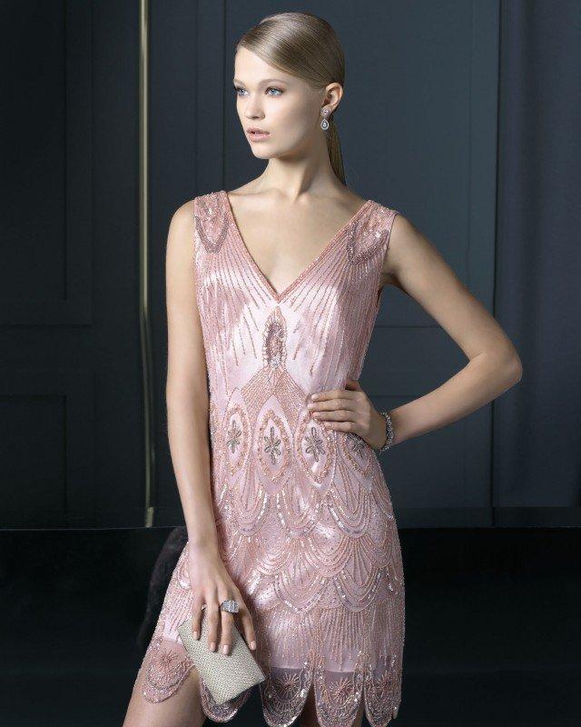 Beautiful Pink Cocktail Dress