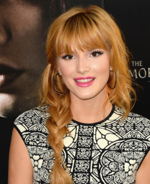 Bella Thorne Braid/Getty Image