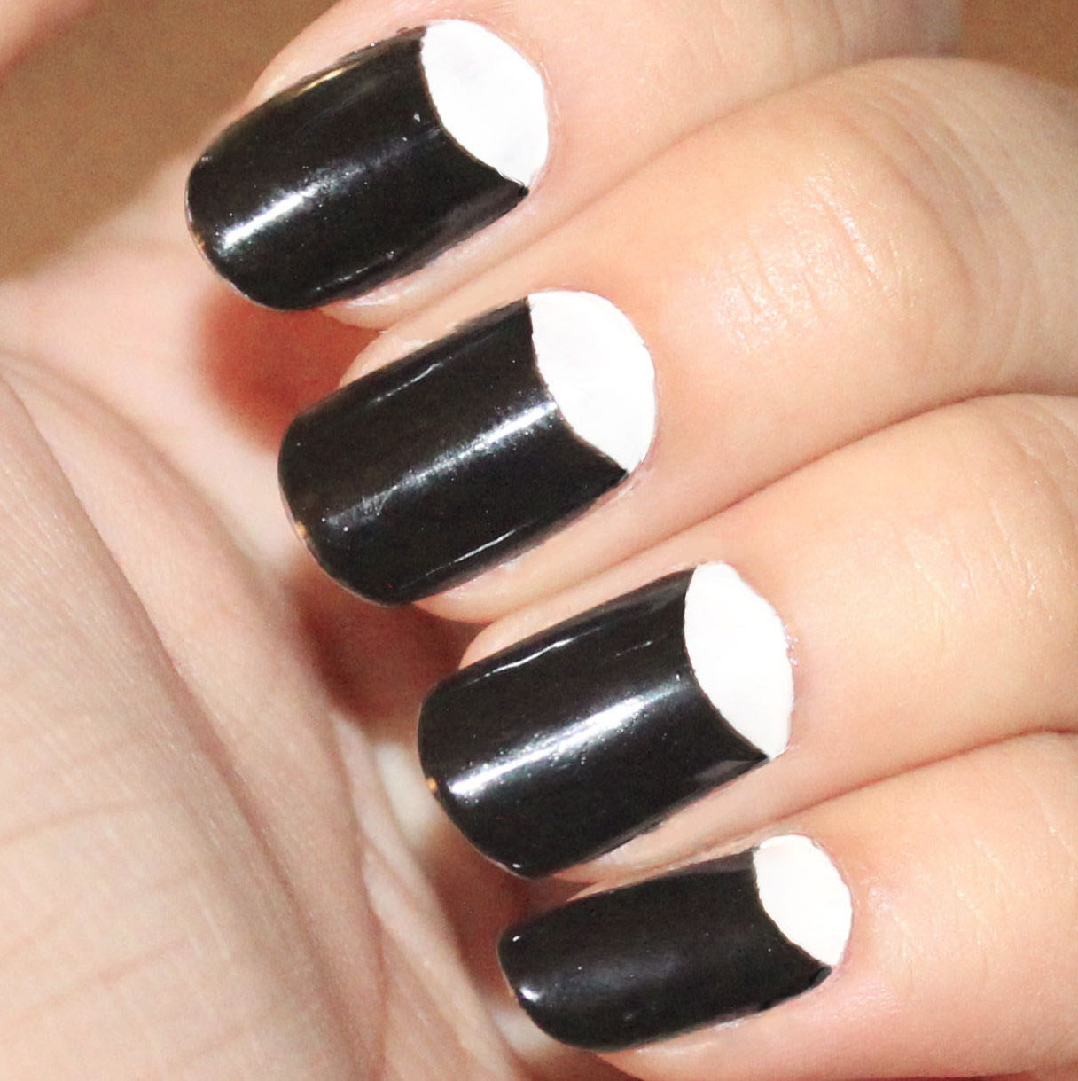 Pretty Nails To Try Half Moon Nail Designs Pretty Designs