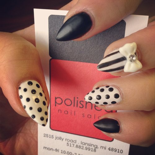 15 fabulous stiletto nail ideas pretty designs