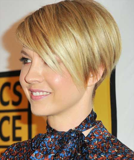 Blonde Pixie Haircut for Short Hair