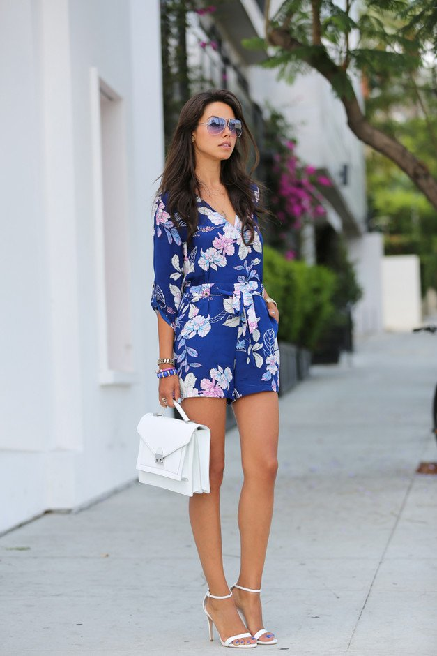 4bac4ef1a5b 13 Stunning Floral Jumpsuit Outfit Ideas for Summer - Pretty Designs