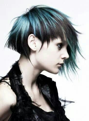 Blue Short Hair