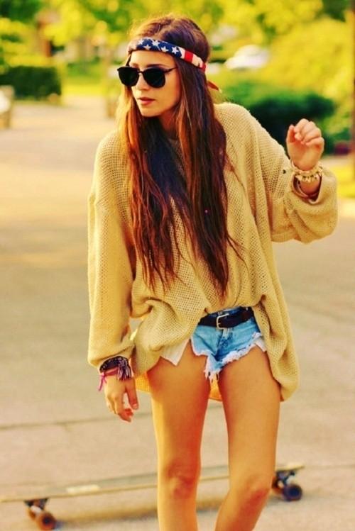 Boho Look/Pinterest