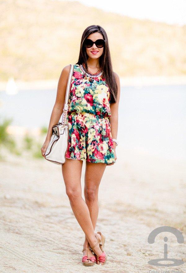 Boho-chic Floral Jumpsuit