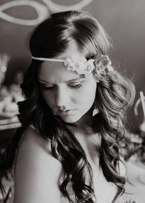 Boho-chic Hairstyle with Flower Headband