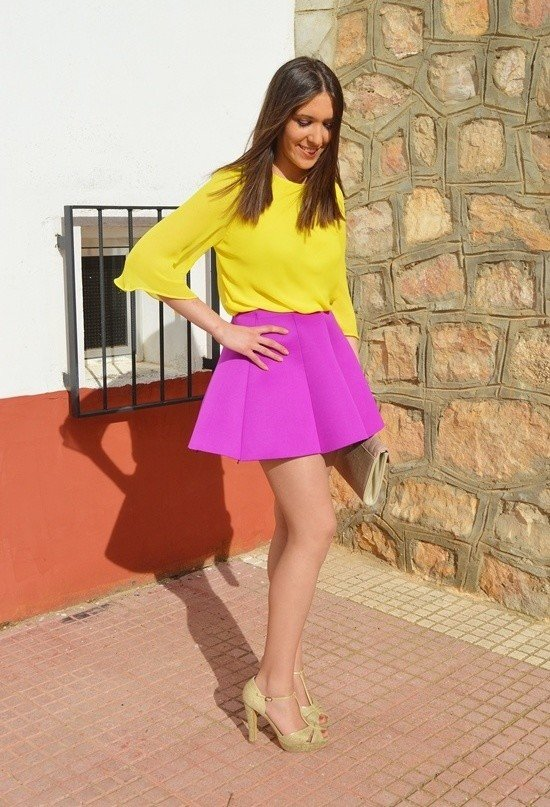 Bright Colored Outfit for Women