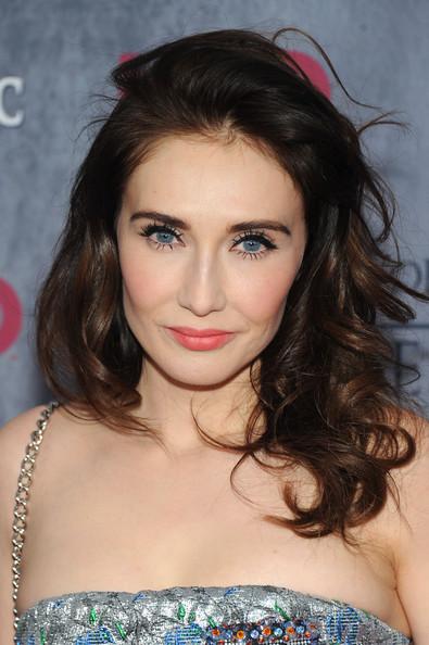 Carice Van Houten Long Curls