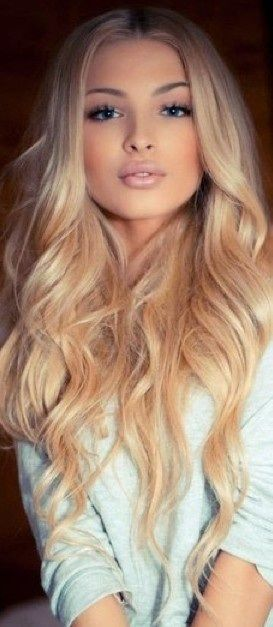 pretty blonde hairstyles : 15 Sexy Hairstyles for Long & Medium Hair - Pretty Designs