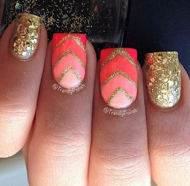 Amazing Coral Nail Designs For The Season Pretty Designs