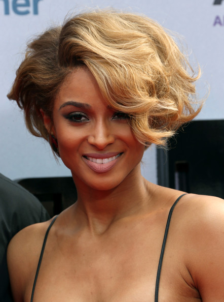 Ciara Short Wavy Haircut