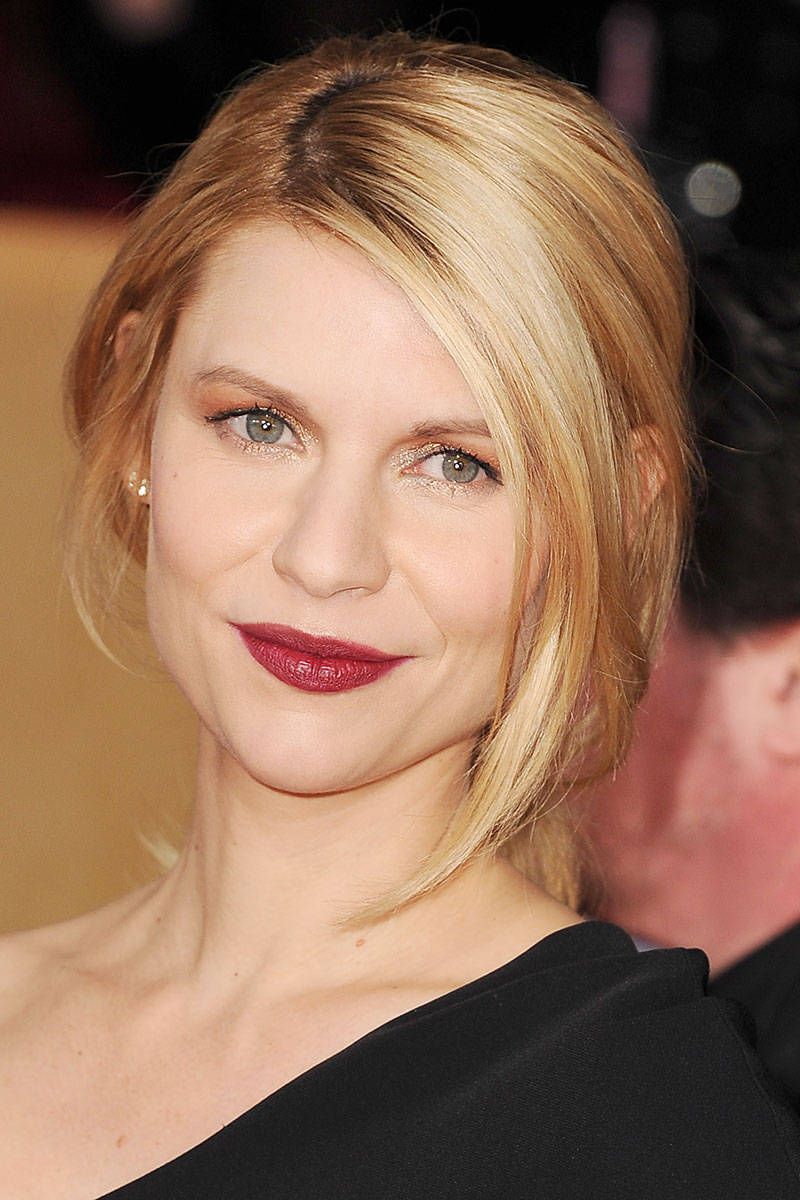 Claire Danes Stunning Makeup Idea for Wedding
