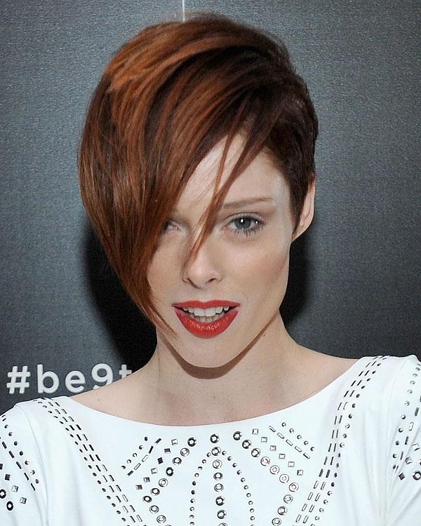 Coco Rocha Pixie Haircut
