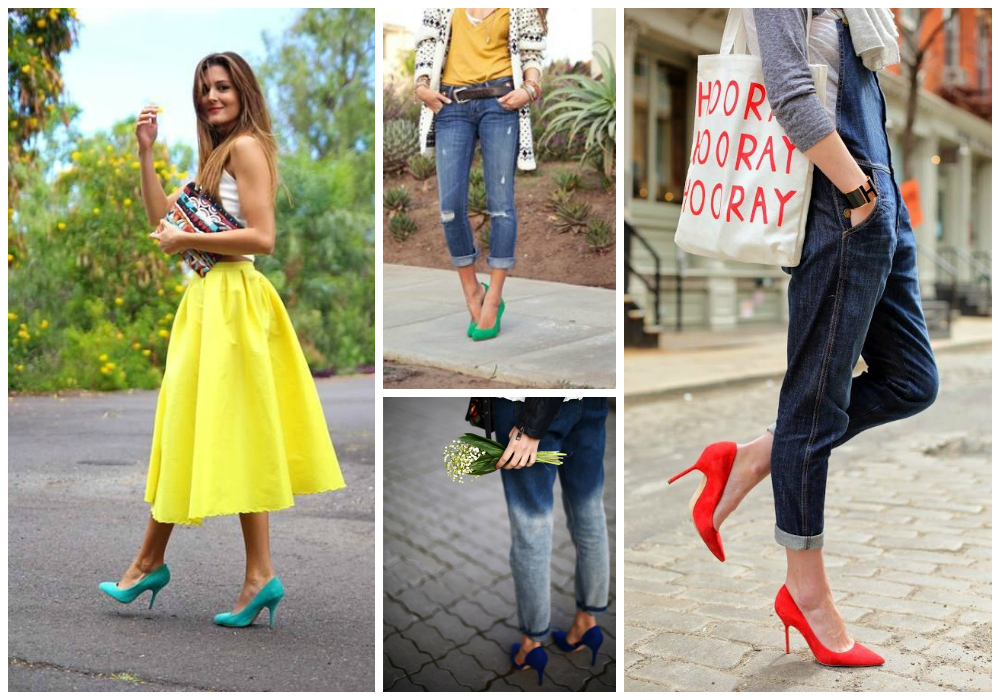 Colored Pumps for All Seasons