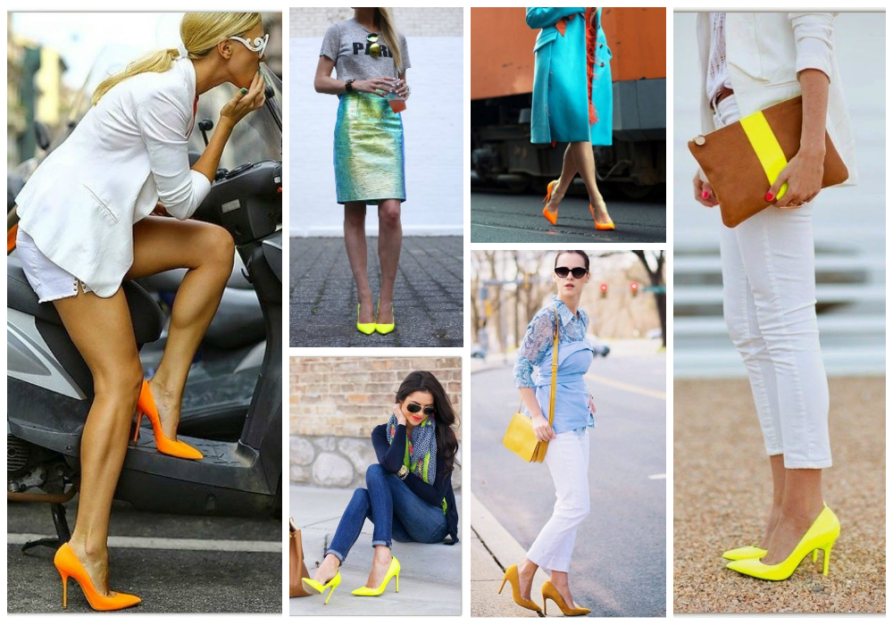 Colored Pumps for a Youthful Fashion