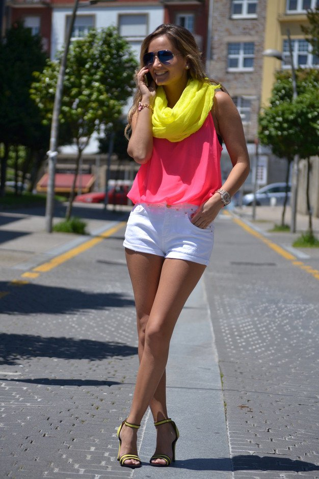Colorful Outfit for Summer