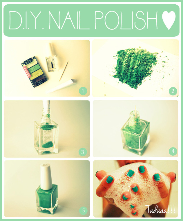 Diy nail polish you must love pretty designs for Zimmerdekoration diy