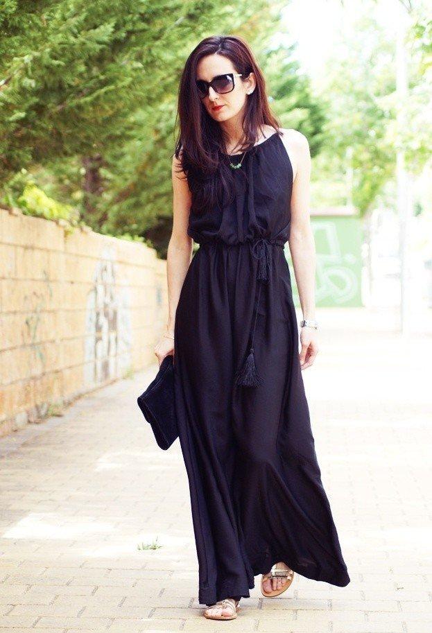 Edgy Maxi Dress
