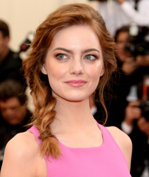 Emma Stone Braid/Getty Image