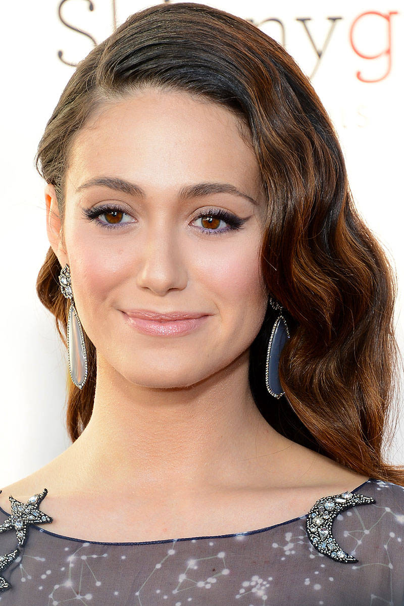 Emmy Rossum Dreamy Makeup Idea for Wedding