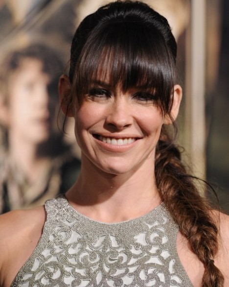 Evangeline Lilly Braid/Getty Image