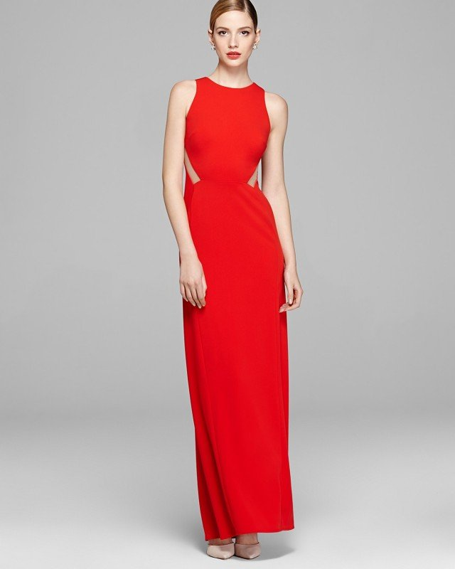 Faddish Red Evening Gowns