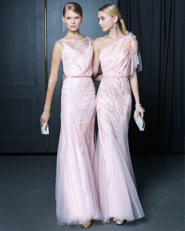 Fairy Pink Long Dresses